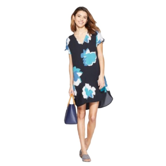 a new day Dresses & Skirts - A New Day V-Neck Floral Dress